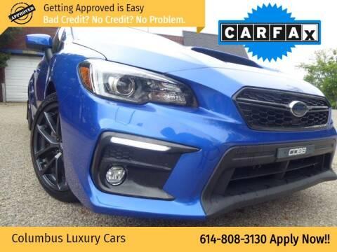 2018 Subaru WRX for sale at Columbus Luxury Cars in Columbus OH