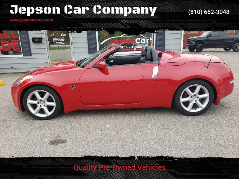2004 Nissan 350Z for sale at Jepson Car Company in Saint Clair MI