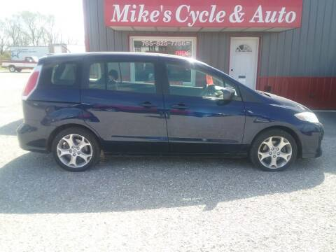 2010 Mazda MAZDA5 for sale at MIKE'S CYCLE & AUTO in Connersville IN