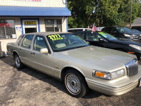 1997 Lincoln Town Car for sale at Klein on Vine in Cincinnati OH