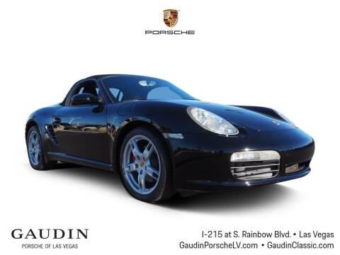 2006 Porsche Boxster for sale at Gaudin Porsche in Las Vegas NV