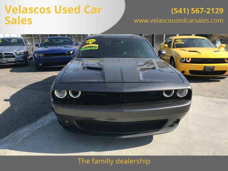 2016 Dodge Challenger for sale at Velascos Used Car Sales in Hermiston OR