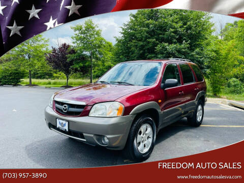2004 Mazda Tribute for sale at Freedom Auto Sales in Chantilly VA