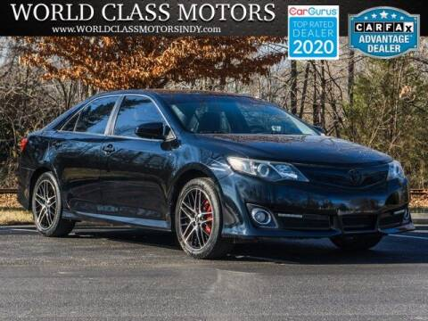 2014 Toyota Camry for sale at World Class Motors LLC in Noblesville IN