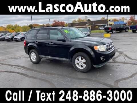 2010 Ford Escape for sale at Lasco of Waterford in Waterford MI