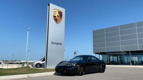 2017 Porsche 718 Cayman for sale at Napleton Autowerks in Springfield MO