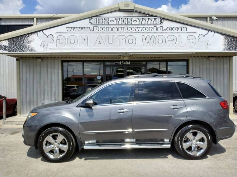 2011 Acura MDX for sale at Don Auto World in Houston TX