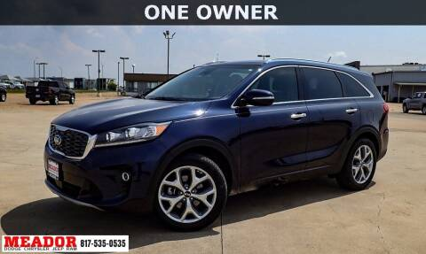 2019 Kia Sorento for sale at Meador Dodge Chrysler Jeep RAM in Fort Worth TX