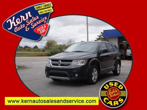 2012 Dodge Journey for sale at Kern Auto Sales & Service LLC in Chelsea MI
