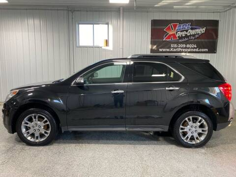 2013 Chevrolet Equinox for sale at Karl Pre-Owned - Webster City in Webster City IA