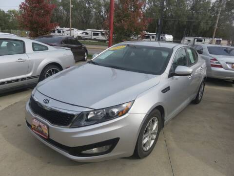 2012 Kia Optima for sale at Azteca Auto Sales LLC in Des Moines IA