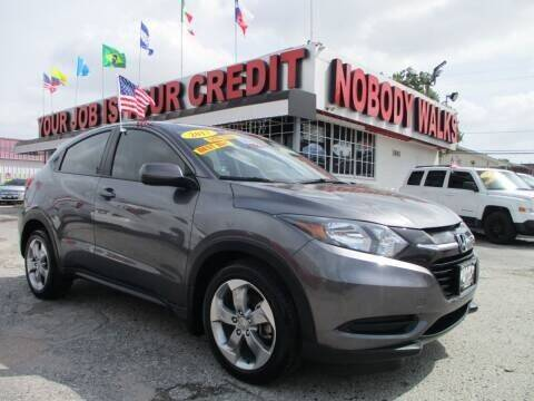 2017 Honda HR-V for sale at Giant Auto Mart 2 in Houston TX