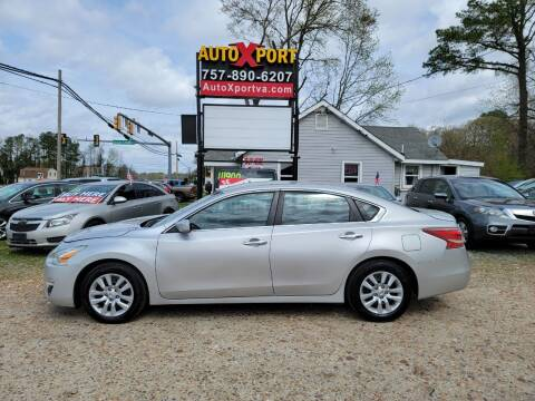 2013 Nissan Altima for sale at Autoxport in Newport News VA