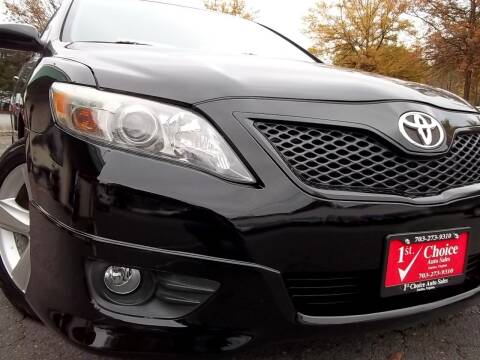 2011 Toyota Camry for sale at 1st Choice Auto Sales in Fairfax VA