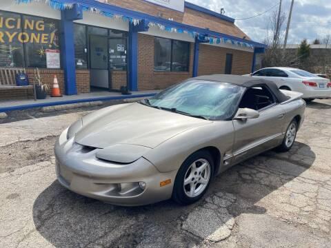 2000 Pontiac Firebird for sale at Duke Automotive Group in Cincinnati OH