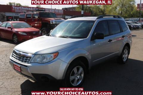 2013 Subaru Forester for sale at Your Choice Autos - Waukegan in Waukegan IL