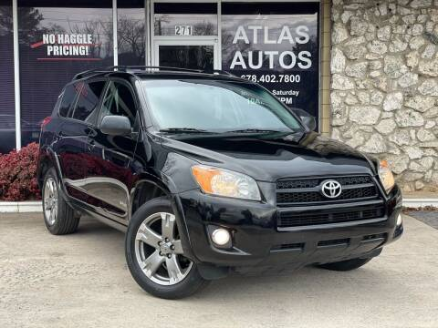 2011 Toyota RAV4 for sale at ATLAS AUTOS in Marietta GA