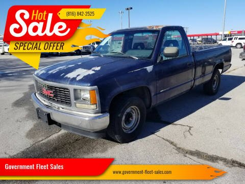 1994 GMC Sierra 1500 for sale at Government Fleet Sales - Buy Here Pay Here in Kansas City MO
