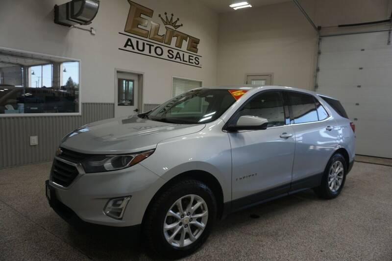 2018 Chevrolet Equinox for sale at Elite Auto Sales in Ammon ID
