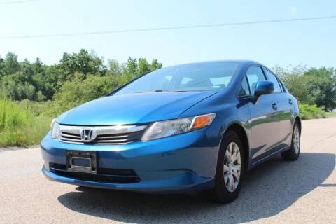 2012 Honda Civic for sale at Imotobank in Walpole MA