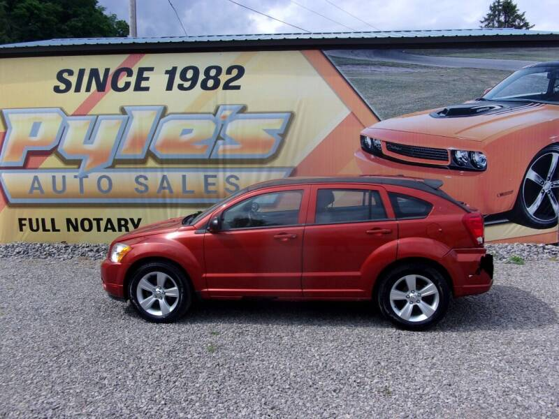 2010 Dodge Caliber for sale at Pyles Auto Sales in Kittanning PA