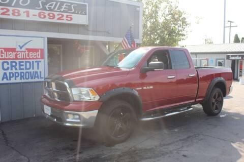 2010 Dodge Ram Pickup 1500 for sale at D & B Auto Sales LLC in Washington MI