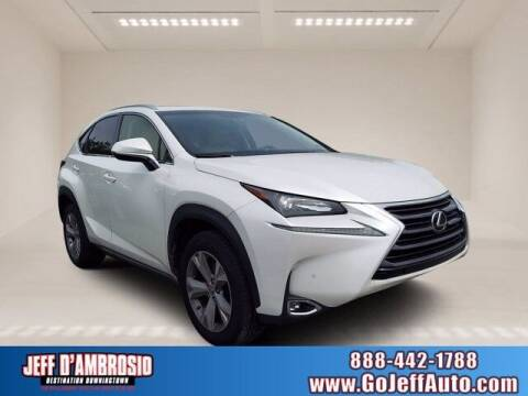 2017 Lexus NX 200t for sale at Jeff D'Ambrosio Auto Group in Downingtown PA