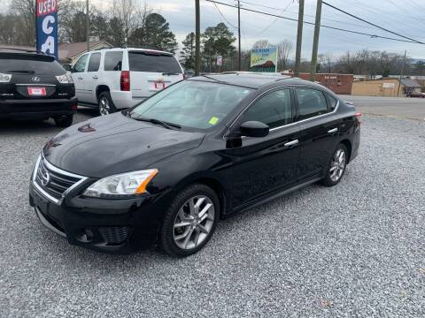 2014 Nissan Sentra for sale at MOUNTAIN CITY MOTORS INC in Dalton GA