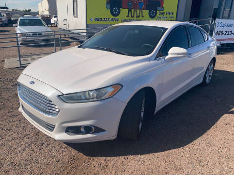 2015 Ford Fusion for sale at 3 Guys Auto Sales LLC in Phoenix AZ