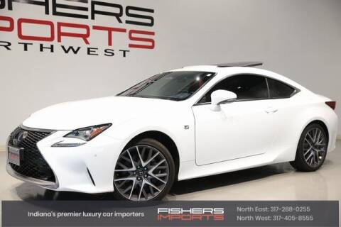 2018 Lexus RC 350 for sale at Fishers Imports in Fishers IN