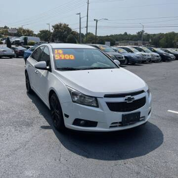 2014 Chevrolet Cruze for sale at Auto Bella Inc. in Clayton NC