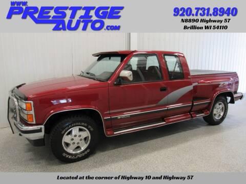 1992 Chevrolet C/K 1500 Series for sale at Prestige Auto Sales in Brillion WI
