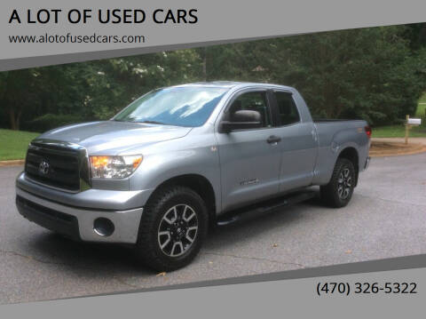 2012 Toyota Tundra for sale at A LOT OF USED CARS in Suwanee GA