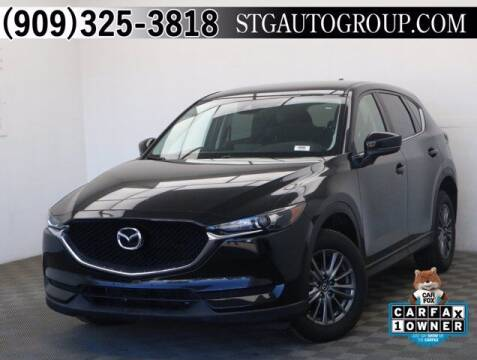 2017 Mazda CX-5 for sale at STG Auto Group in Montclair CA