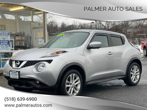 2015 Nissan JUKE for sale at Palmer Auto Sales in Menands NY