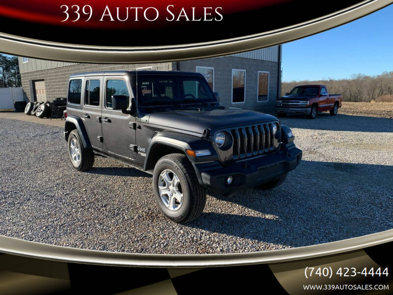 2018 Jeep Wrangler Unlimited for sale at 339 Auto Sales in Belpre OH