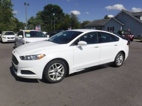 2016 Ford Fusion for sale at Rob Co Automotive LLC in Springfield TN