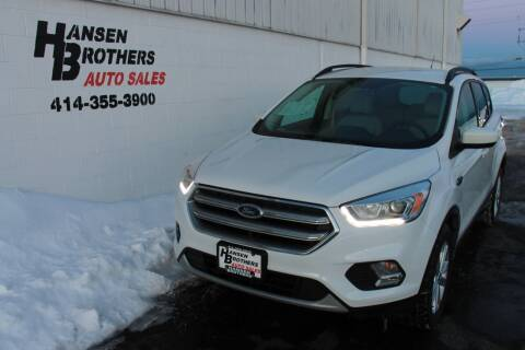 2017 Ford Escape for sale at HANSEN BROTHERS AUTO SALES in Milwaukee WI