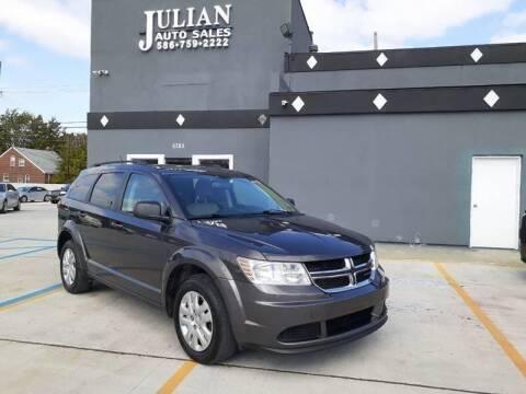 2017 Dodge Journey for sale at Julian Auto Sales, Inc. in Warren MI