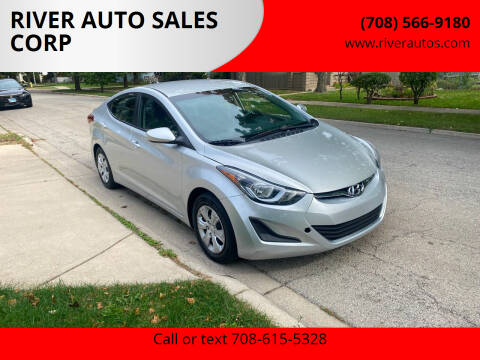 2016 Hyundai Elantra for sale at RIVER AUTO SALES CORP in Maywood IL