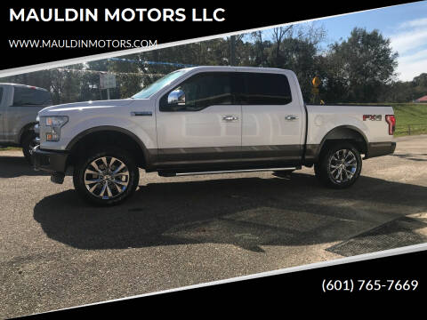 2016 Ford F-150 for sale at MAULDIN MOTORS LLC in Sumrall MS