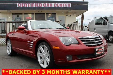 2005 Chrysler Crossfire for sale at CERTIFIED CAR CENTER in Fairfax VA