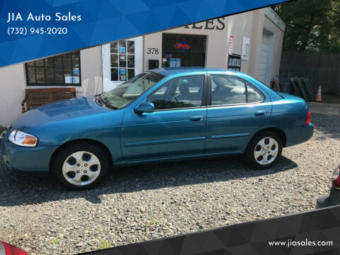2004 Nissan Sentra for sale at JIA Auto Sales in Port Monmouth NJ