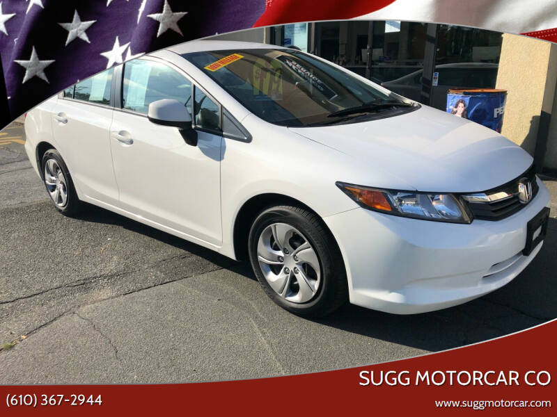 2012 Honda Civic for sale at Sugg Motorcar Co in Boyertown PA
