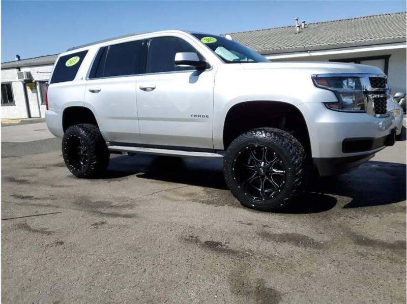 2015 Chevrolet Tahoe for sale at KARS R US in Modesto CA