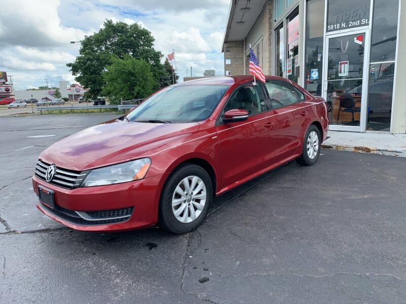 2015 Volkswagen Passat for sale at Rick Herter Motors in Loves Park IL