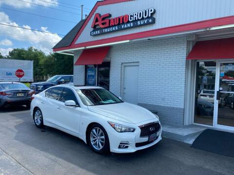 2015 Infiniti Q50 for sale at AG AUTOGROUP in Vineland NJ