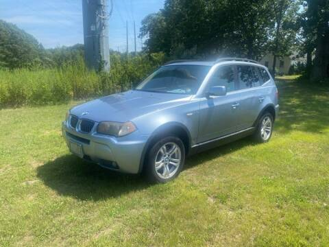2006 BMW X3 for sale at Vertucci Automotive Inc in Wallingford CT