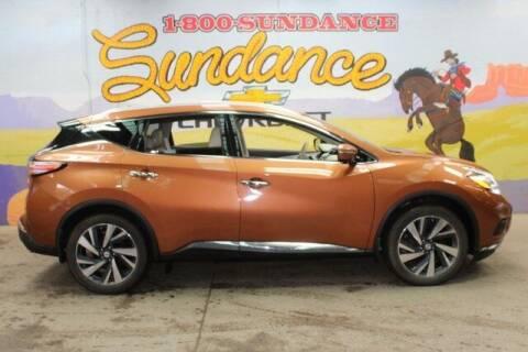 2015 Nissan Murano for sale at Sundance Chevrolet in Grand Ledge MI