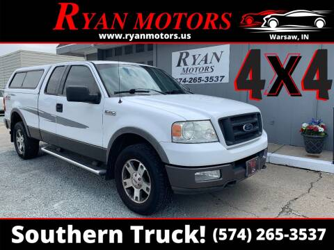 2004 Ford F-150 for sale at Ryan Motors LLC in Warsaw IN